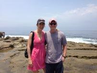 Meg and Ben CA Beach