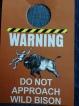 Buffalo warning