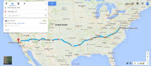 North Beach  MD to Glendale  CA   Google Maps